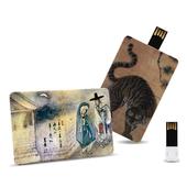 제이메타 C3  민화 카드형 USB 16G
