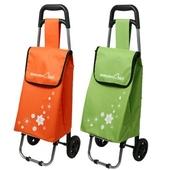[시장가방] 미니 꽃무늬 쇼핑 캐리어