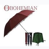 2단자동우산 폴리실버 투톤손잡이우산