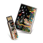 제이메타 S4 자개USB 명함케이스 세트 4G