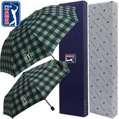 PGA 2단자동/3단수동 체스블루 우산세트