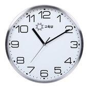 슬림 알류미늄벽시계