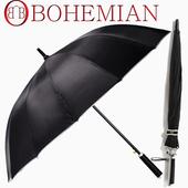 보헤미안 14살대 장우산폴리실버우산