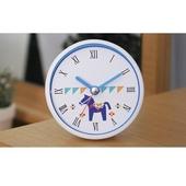 [욕실/방수시계]달라호스 화이트 투톤 흡착시계