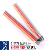 [국산]투명사각·파스텔연필3P세트
