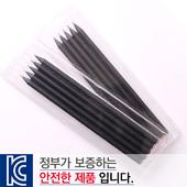 [국산]투명사각·보석연필5P세트