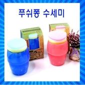 수세미/푸쉬퐁/자동수세미/세제통