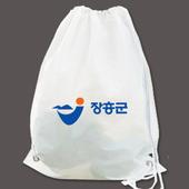 유백 비닐가방/양줄백팩/비닐배낭/짐색/백쌕