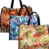 [시장가방] 국산 나뭇잎 마트가방 대