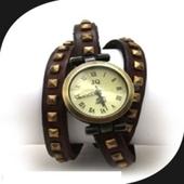 [손목시계]가죽팔찌시계 / 엔틱시계 / 손목시계 / 패션시계