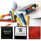 수첩형 골프 나무티 5P세트