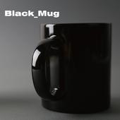 블랙에스프레소 머그컵