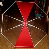 키르히탁55반사띠우산발광우산안전우산(빨강)