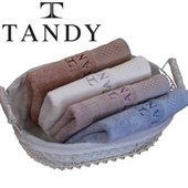[TANDY] 탠디 뱀부얀 죽사 Hive(벌집)세면타올