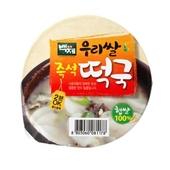 백제 우리쌀 즉석떡국 4봉