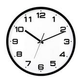 [벽시계]삼육이 원형벽시계(블랙)