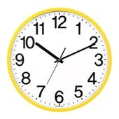[벽시계]삼육이 원형벽시계(옐로우)