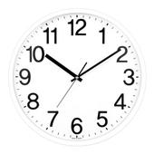 [벽시계]삼육이 원형벽시계(화이트)
