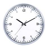 [벽시계]항아리인텍스 크롬벽시계