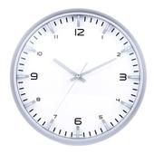 [벽시계]항아리인텍스 은색벽시계