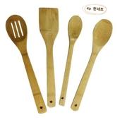 [주방기구세트]대나무주걱세트(뒤집개,주걱,조리스푼)