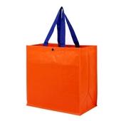 [시장가방] 타포린가방 오렌지