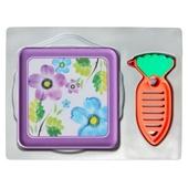 사각멜라민 냄비받침+당근야채칼