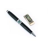 USB자개볼펜2종세트(당초나비)-8G