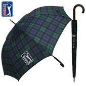 PGA 70자동 글렌체크우드 우산