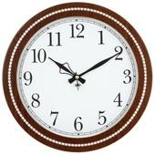 장식라인 월넛벽시계