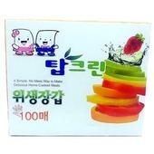 위생장갑 탑크린 고급 100매