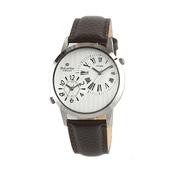 [손목시계](벨카리노)벨카리노 듀얼타임 라운드 화이트