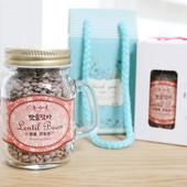 [선물세트(식품종합)]맛담명품렌틸콩(미니메이슨자)
