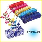 누비 도장 지갑(꽃)