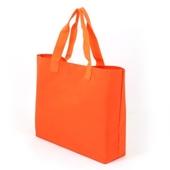 [시장가방] 폴리방수 에코백 오렌지