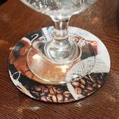 [컵받침/종이컵]컵받침 매트