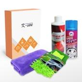 [차량용품]자동차 광택제 4종세트-판촉,스티커