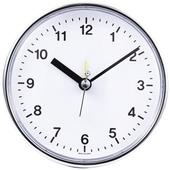 [탁상시계]원형탁상 크롬시계