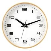 [벽시계]심플원목벽시계280(무소음)