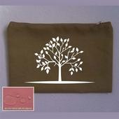 [가방(에코백/면)]캔버스파우치color2합25x17연카키