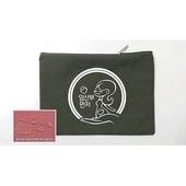 [가방(에코백/면)]캔버스파우치color3합25x17디카키