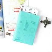 [국산/가죽] 페니체 아이콘 여권지갑