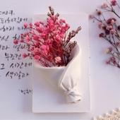 꽃다발타블렛 석고방향제