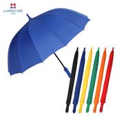 랜드스케이프우산 60폰지칼라멜빵/블루 장우산