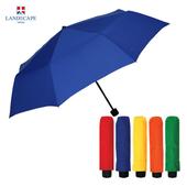 랜드스케이프우산 3단폰지칼라/블루 3단우산
