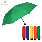 랜드스케이프우산 3단폰지칼라/그린 3단우산