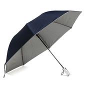 2단 실버 우산