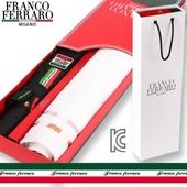 프랑코페라로 2단 임팩트 자동우산+컬러블럭 타월세트