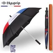 [골프우산]협립 65 태극컬러 이중방풍 수동 골프우산