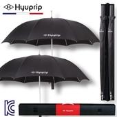 [우산선물세트]협립 70 늄스프링 심플 자동 골프우산 홀인원세트